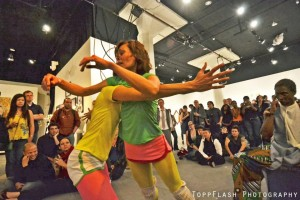 Dissilience Art Show, Diana Lara, Liz Boubion, Afia Walking Tree