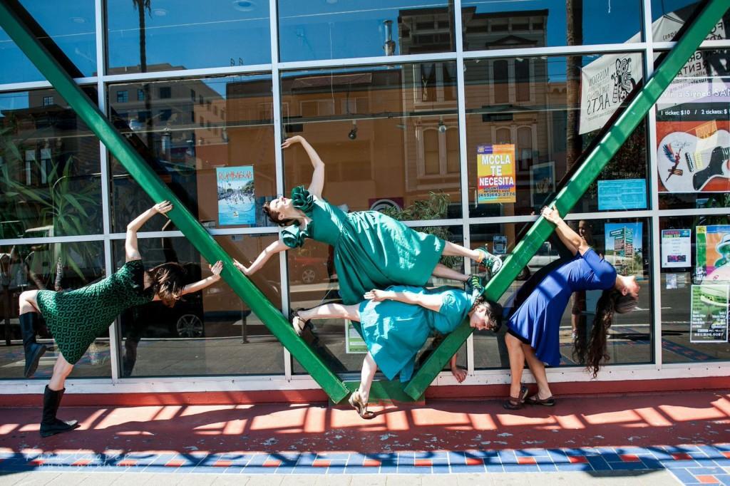 Piñata Dance Collective/Dance Anywhere March 2015/ MCCLA